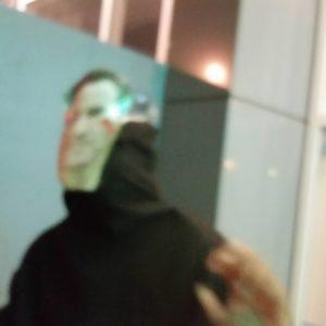 mysterious gavin-newsom-faced ghost director