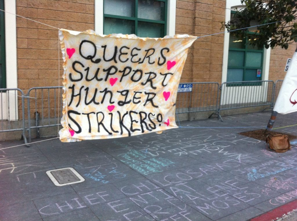 queers support hunger strikers