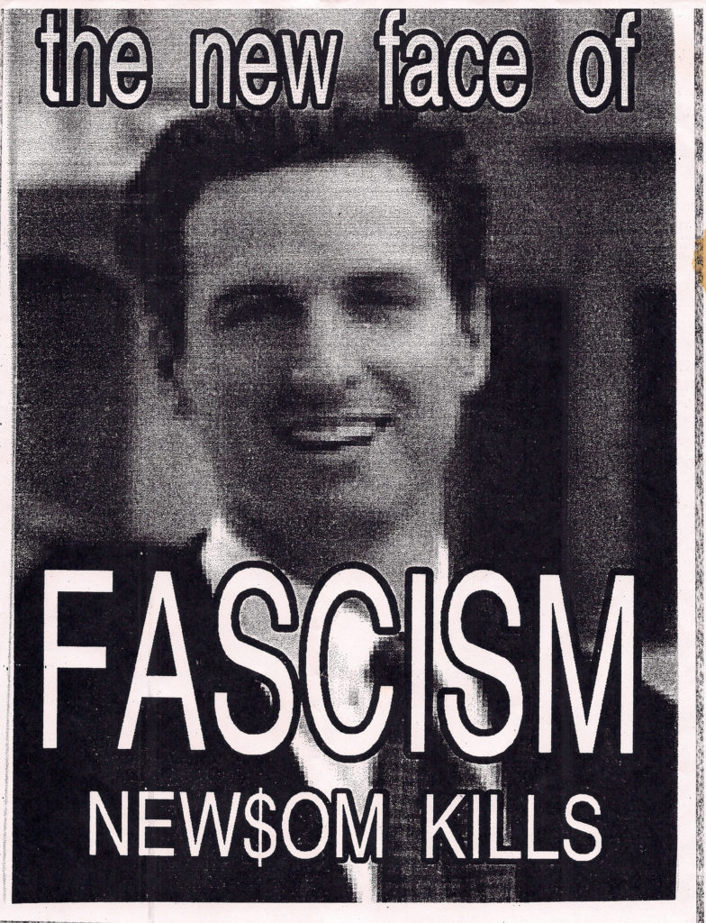 the new face of FASCISM ---- NEW$OM KILLS