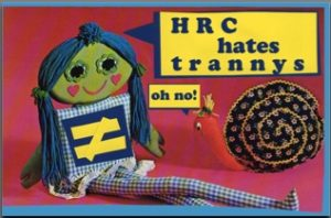 hrc hates trannys