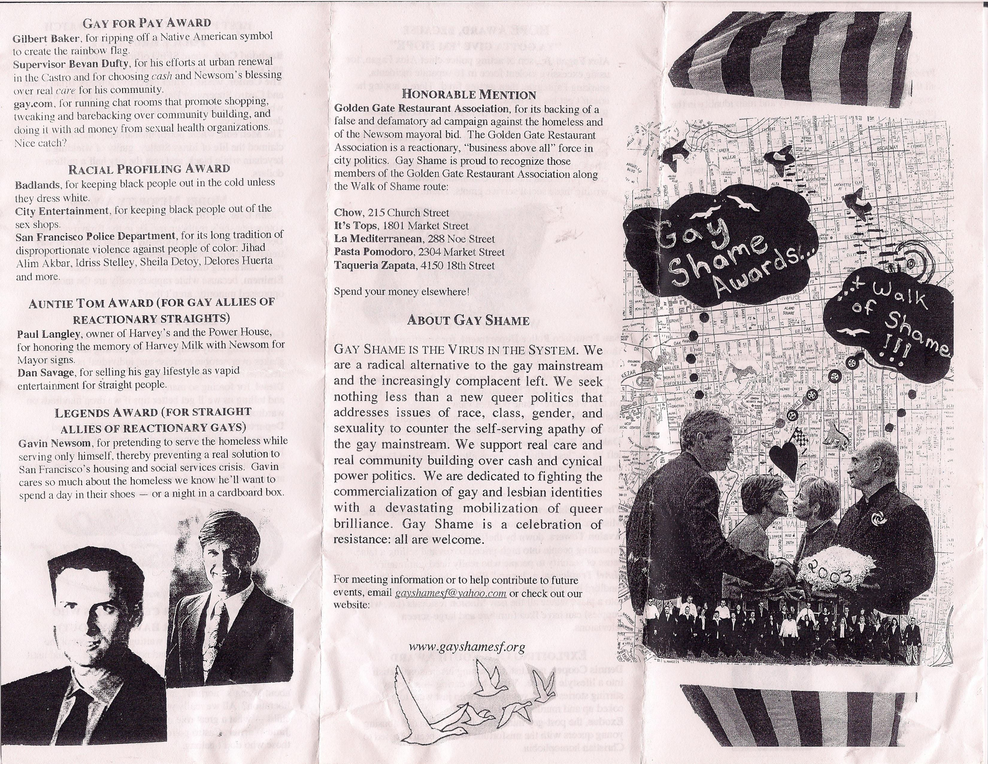 Walk Of Shame, 2003  Gay Shame-9870